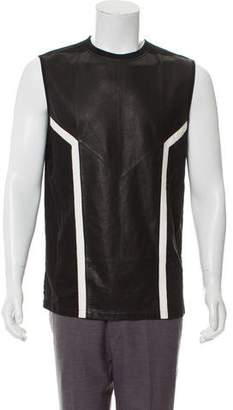 Skingraft Leather-Blend Tank