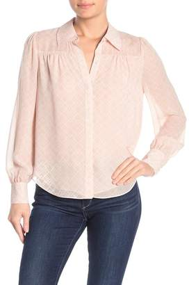Joie Bimala Silk Button Up Blouse