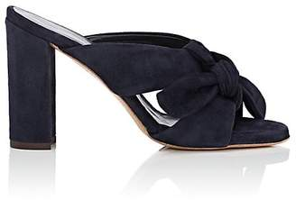 FiveSeventyFive Women's Knotted Suede Mules