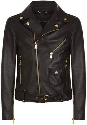 Versace Medusa Leather Jacket