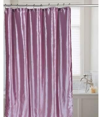 Winston Porter Easton Shimmer Faux Silk Shower Curtain