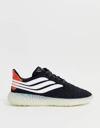 adidas Sobakov Trainers Black With Translucent Sole