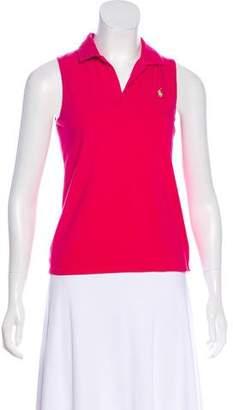 Ralph Lauren Sport Sleeveless Polo Top