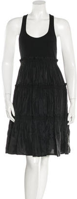 Betsey Johnson Sleeveless Tiered Dress $75 thestylecure.com