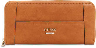 GUESS Huntley Large Zip Around Wallet