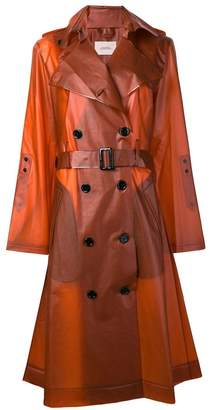 Schumacher Dorothee transparent trench coat