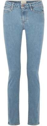 Simon Miller Holt Mid-Rise Slim-Leg Jeans