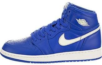 pretty nice cde07 d34d6 Jordan Nike Kids Air 1 Retro High OG GS Hyper Royal Sail Hyper Royal  Basketball