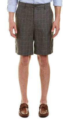 Robert Graham Storm Classic Fit Linen Woven Short