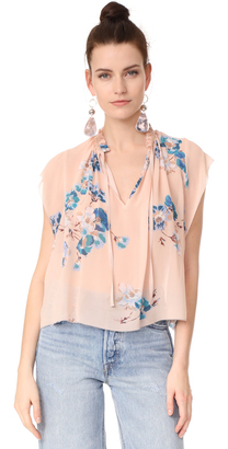 Ulla Johnson Saadi Blouse $288 thestylecure.com