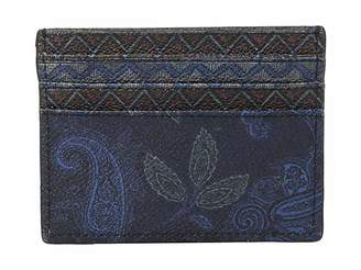 Etro Mixed Paisley Card Holder