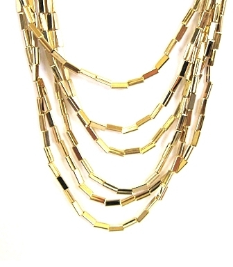 House Of Harlow 1960 - Gold Multi-Strand Necklace