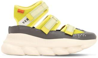 Versace 40MM CHAIN REACTION NYLON SNEAKERS