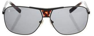 97d409e93463 Pre-Owned at TheRealReal · Louis Vuitton Attraction Aviator Sunglasses