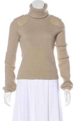 See by Chloe Long Sleeve Turtleneck Sweater
