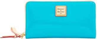 Dooney & Bourke Patent Large Zip Around Wristlet