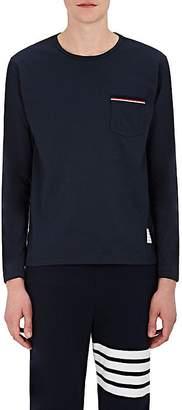 Thom Browne Men's Cotton Jersey Crewneck T-Shirt