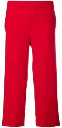 P.A.R.O.S.H. cropped wide-leg trousers
