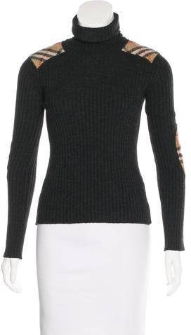 Burberry Burberry London Wool Turtleneck Sweater
