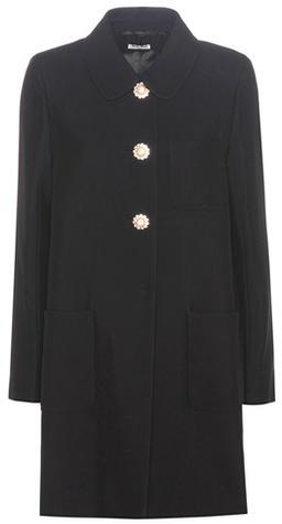 Miu MiuMiu Miu Embellished crêpe coat