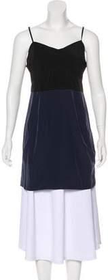AllSaints Sleeveless Two-Tone Dress