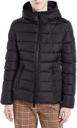 Moncler Tetras Channel-Quilted Puffer Jacket