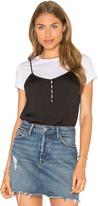 L'Academie The Button Cami Blouse $88 thestylecure.com