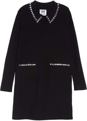 Milly Minis Crystal Collar Shift Dress