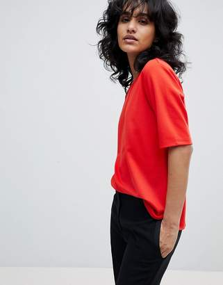 B.young Boat Neck Blouse