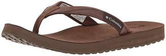 Columbia Women's Sorrento Leather Flip Athletic Sandal