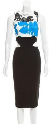 Tanya Taylor Connor Cutout Dress