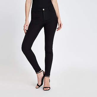 River Island Black Molly skinny fit pants
