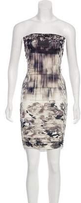Jean Paul Gaultier Strapless Mini Dress