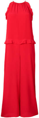 RED Valentino sleeveless wide leg jumpsuit
