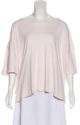 eskandar Short Sleeve Oversize Top