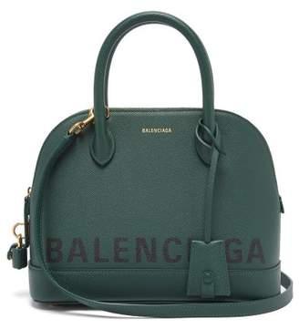 Balenciaga Ville S Top Handle Bag - Womens - Dark Green