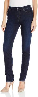 Armani Jeans Women's Mid Rise Rinse Stretch Skinny