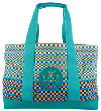 Tory Burch Tory Burch Printed Beach Tote