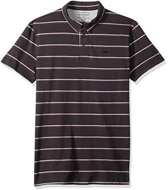 Quiksilver Men's Stripe Polo Knit