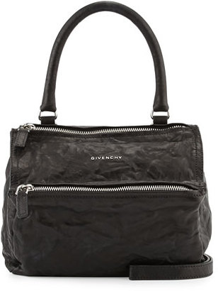 Givenchy Pandora Pepe Small Satchel Bag, Black $1,695 thestylecure.com
