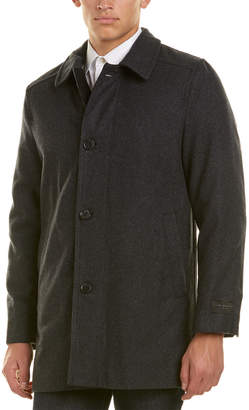 Ike Behar Seville Wool-Blend Coat