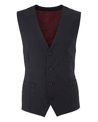 Skopes Black Darwin Suit Wcoat Reg