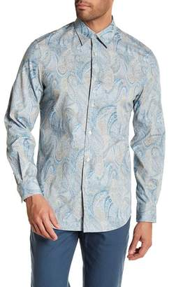 Perry Ellis Speckle Paisley Regular Fit Shirt