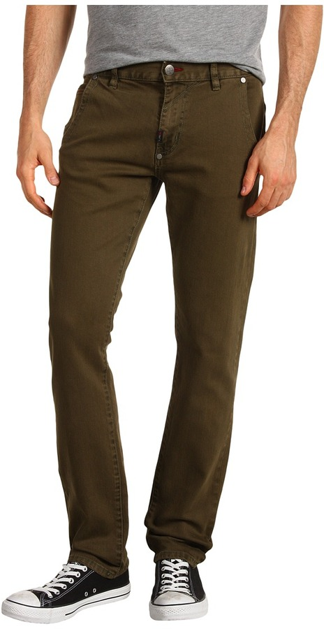 Lrg L-R-G - Counterpoint Slim Straight Pant (Olive Jam) - Apparel