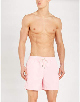 Polo Ralph Lauren Drawstring-waist logo-embroidered swim shorts
