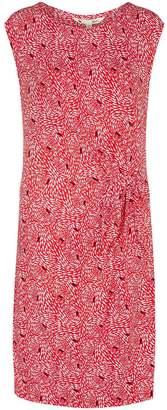 Yumi Fish Printed Jersey Bodycon Dress