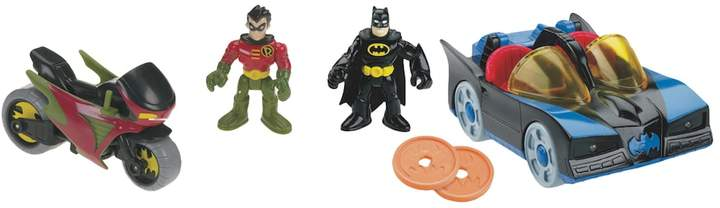 Fisher-price Imaginext DC Super Friends Batman & Robin Set by Fisher-Price