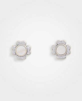 Ann Taylor Flower Stud Earrings