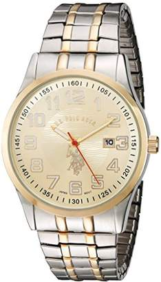 U.S. Polo Assn. Classic Men's USC80053 Two-Tone Analogue Dial Expansion Watch