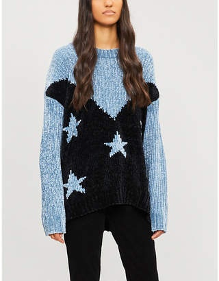Wildfox Couture Splendor Astral oversized knitted sweater